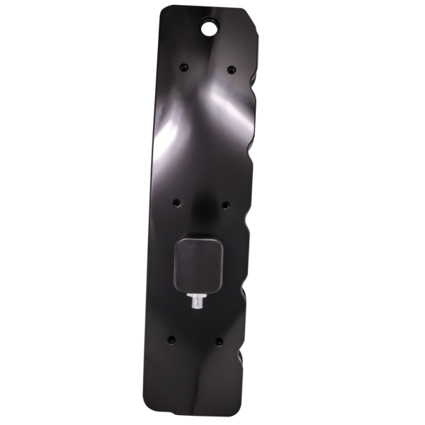 Anodized black billet valve cover