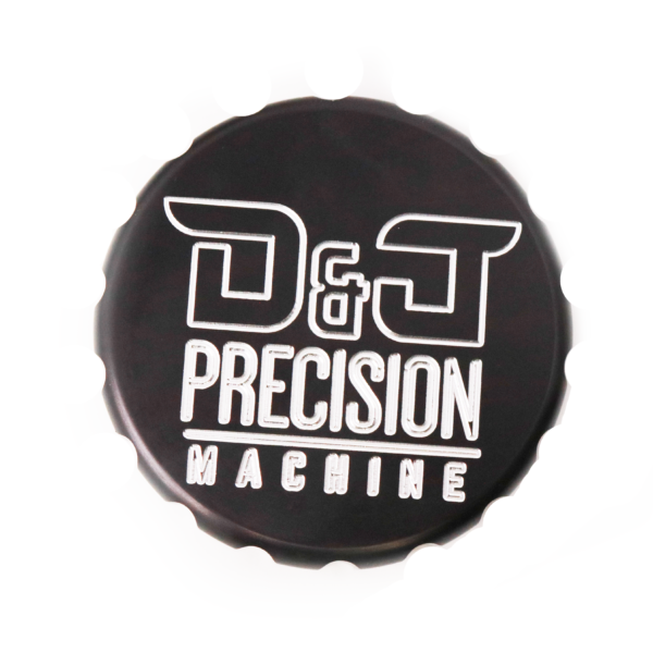 D&J Precision Machine Oil Cap Cover