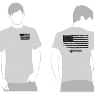 D&J Precision Machine American Flag Shirt