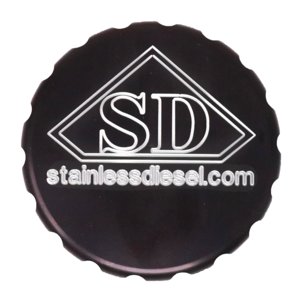 Stainless Diesel Oil Cap Cover